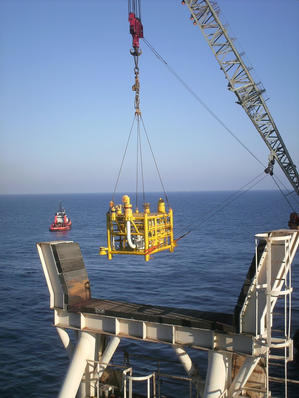 14GlobalMaritime The installation of a suction pile a manifold and a Subsea Distribution Assembly on the WDDM project