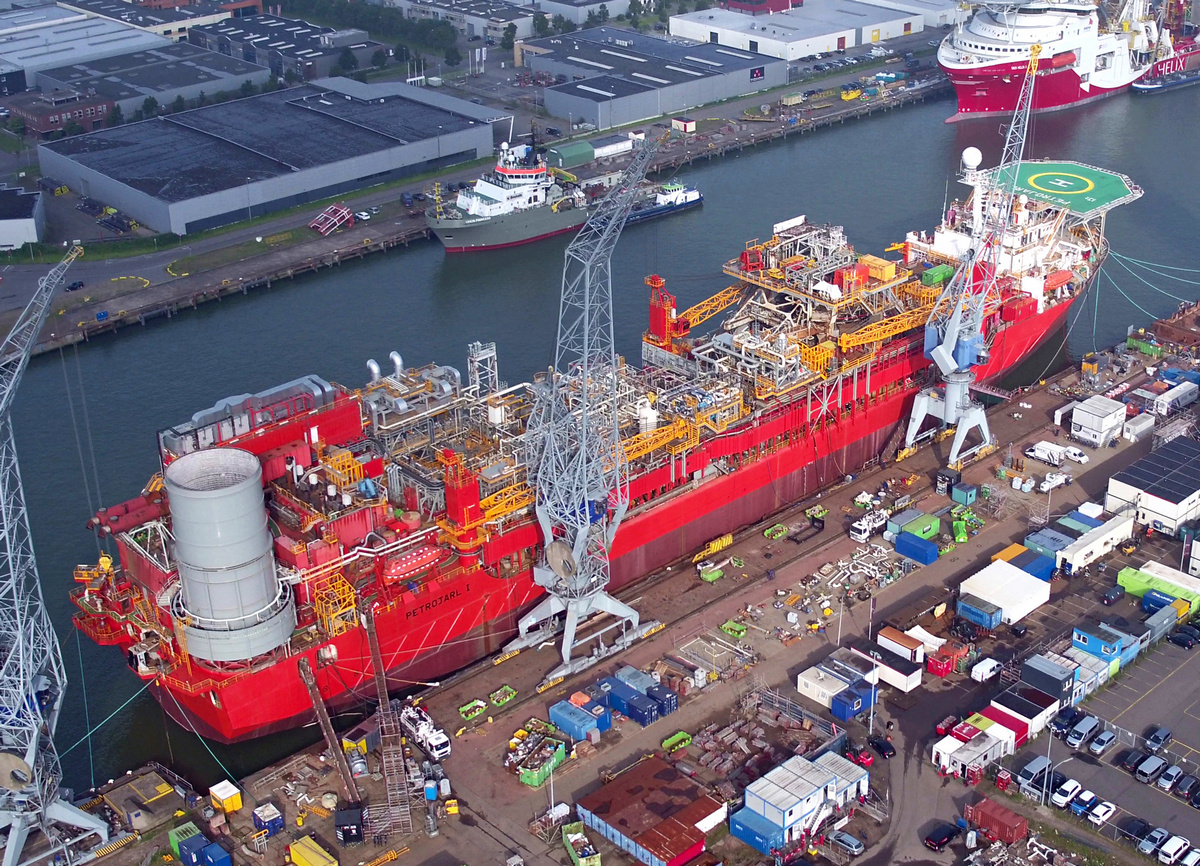 5FPSO Petrojarl 1 after refit ready for delivery