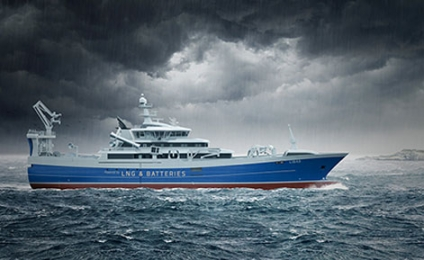 MAN Diesel & Turbo to Equip World's First LNG-Powered Fishing Trawler