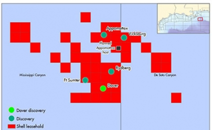 Shell Announces Major Deep-water Exploration Discovery in the Gulf of Mexico