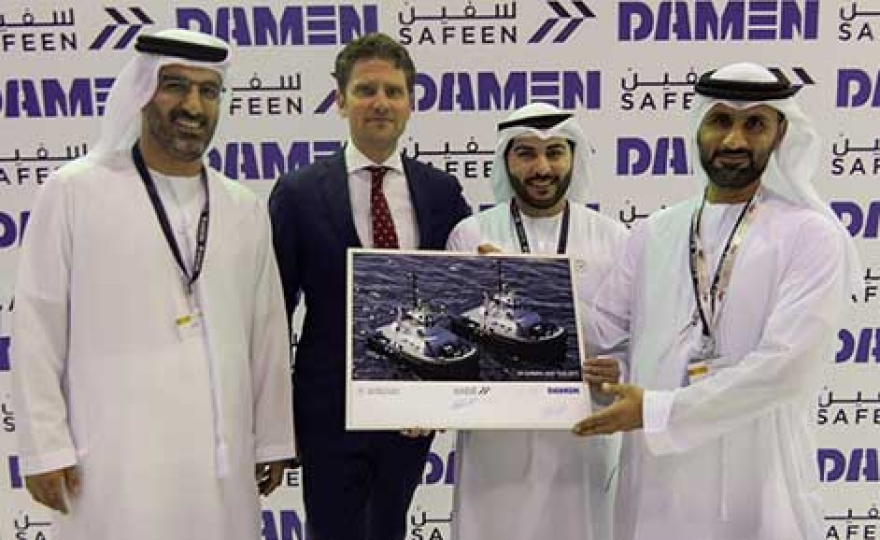 Damen and Abu Dhabi Ports Sign Contract
