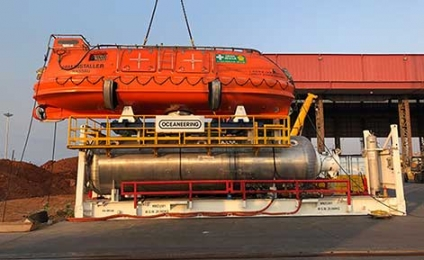 Unique Group Successfully Delivers HRF System to Oceaneering