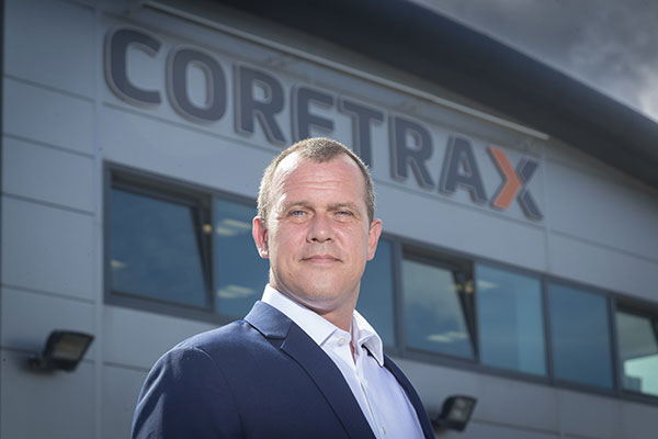 SecondKenny Murray MD and founder of Coretrax 4