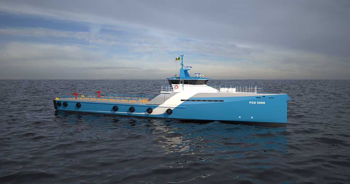 Naviera Integral Orders 15th Fast Crew Supplier FCS 5009 from Damen
