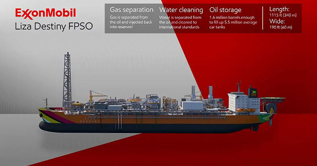 SBM Offshore Awarded Contracts for ExxonMobil FPSO Liza