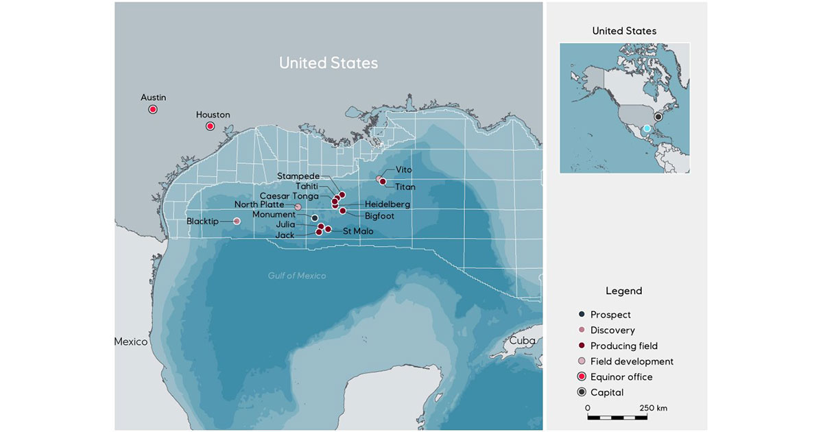 BOEM Approves Equinor's Acquisition with Shell in Gulf of Mexico