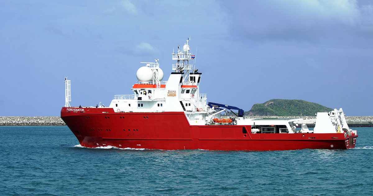 Fugro Completes AUV Geotechnical Site Survey for BSP