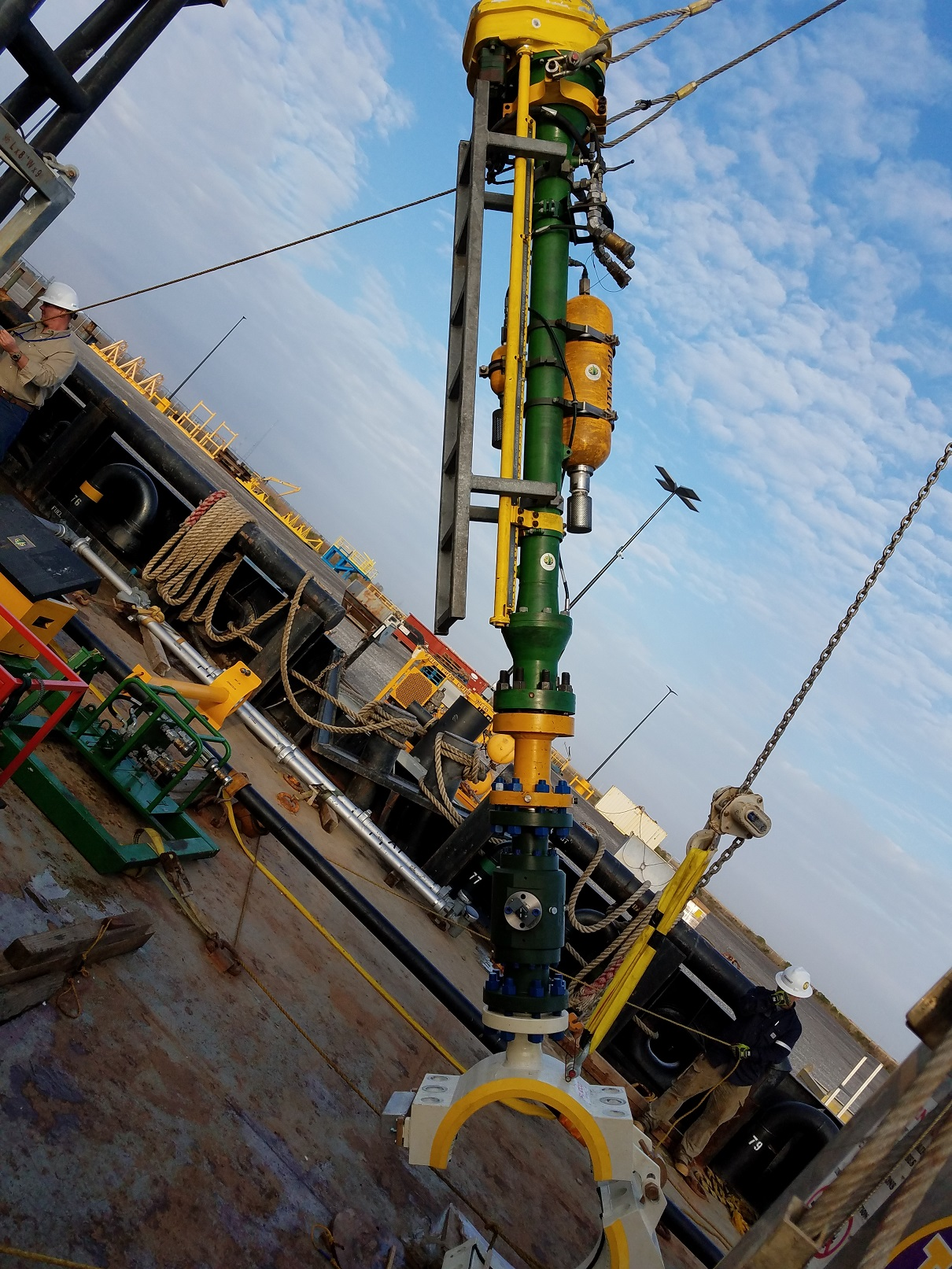 2 STATS Group Subsea Hot Tapping 4in x 18in Flowline GoM