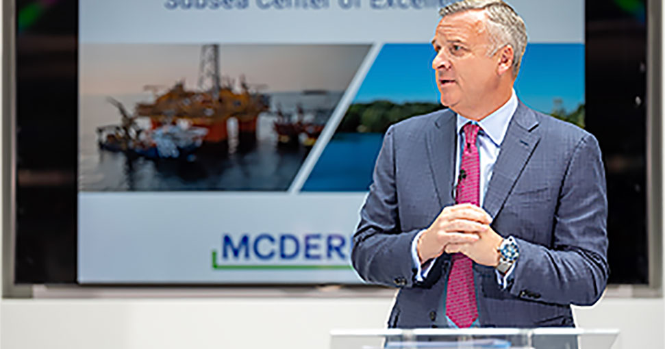 McDermott Relocates Its Subsea Center of Excellence in the UK