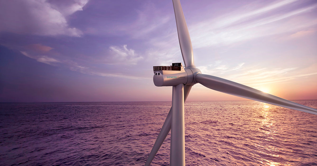 Siemens Gamesa Awarded Largest U.S. Offshore Wind Power Order