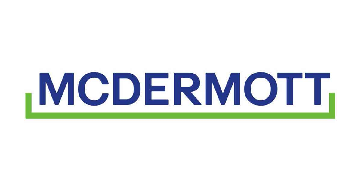 McDermott Enters into Agreement for up to $1.7 Billion of New Financing
