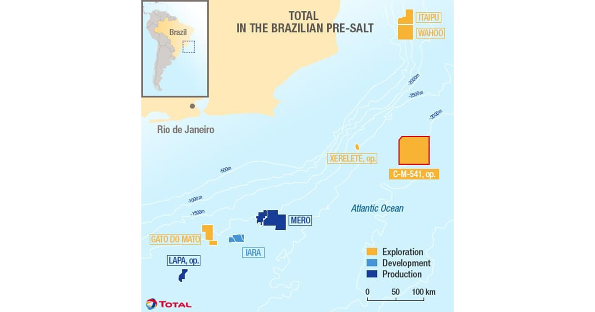 Total Expands Pre-Salt Footprint Offshore Brazil