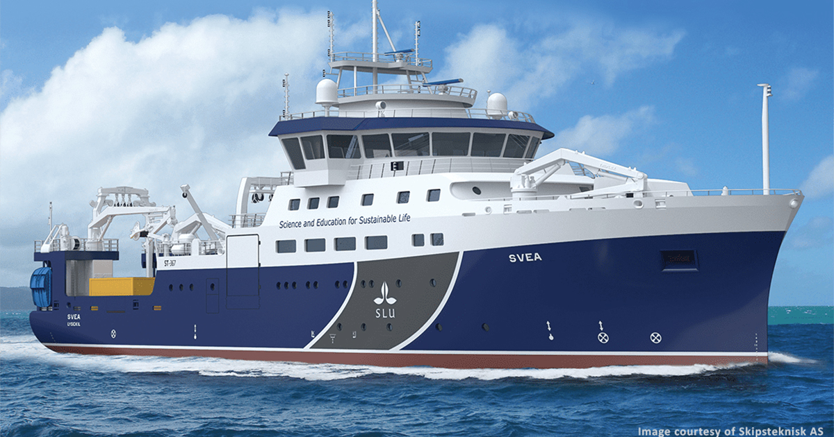 MacArtney's Customized System Solution for Swedish Research Vessel