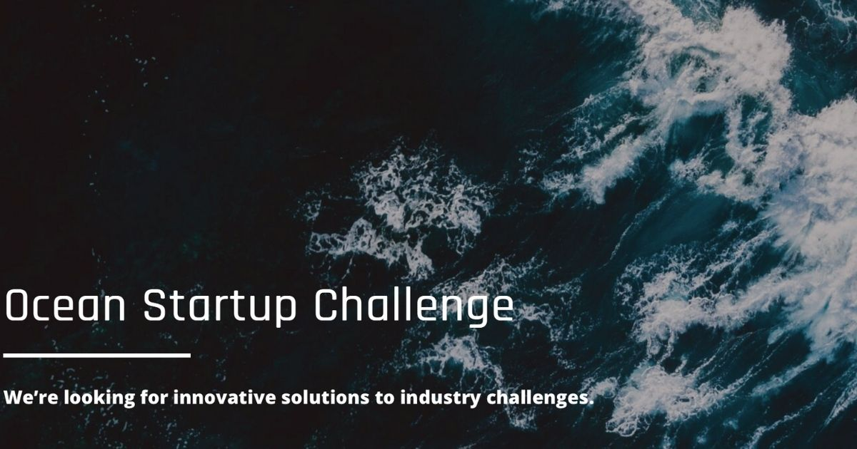 Ocean Startup Challenge Seeks Problem-Solvers to Help Grow Blue Economy