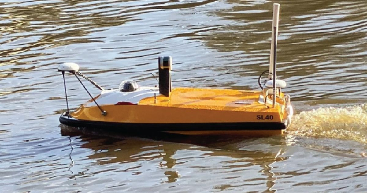 THURN Group Orders SL40 Autonomous Survey Boat from OceanAlpha