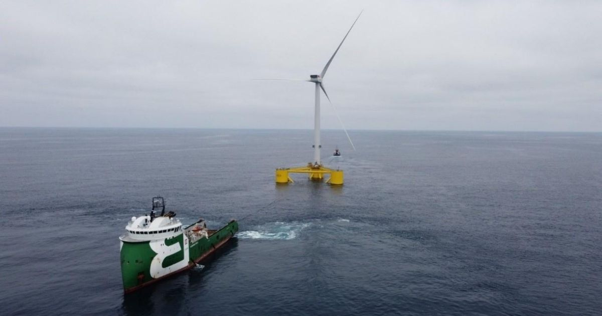Fugro Completes Positioning Support for WindFloat Atlantic