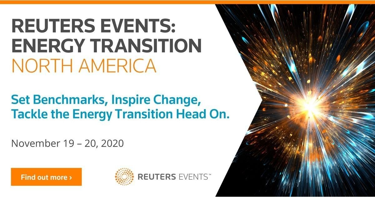 Reuters Events Launches Energy Transition North America Online Summit