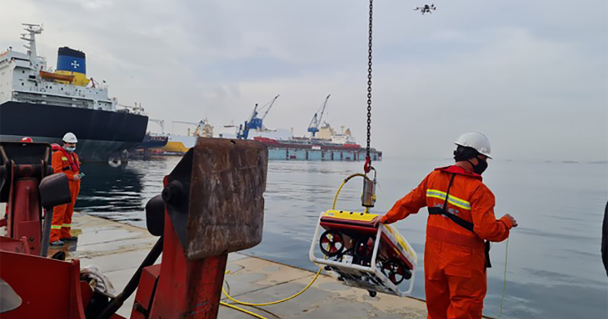 Turkey's  MOST Maritime Choses Falcon ROV  for Emergency Response