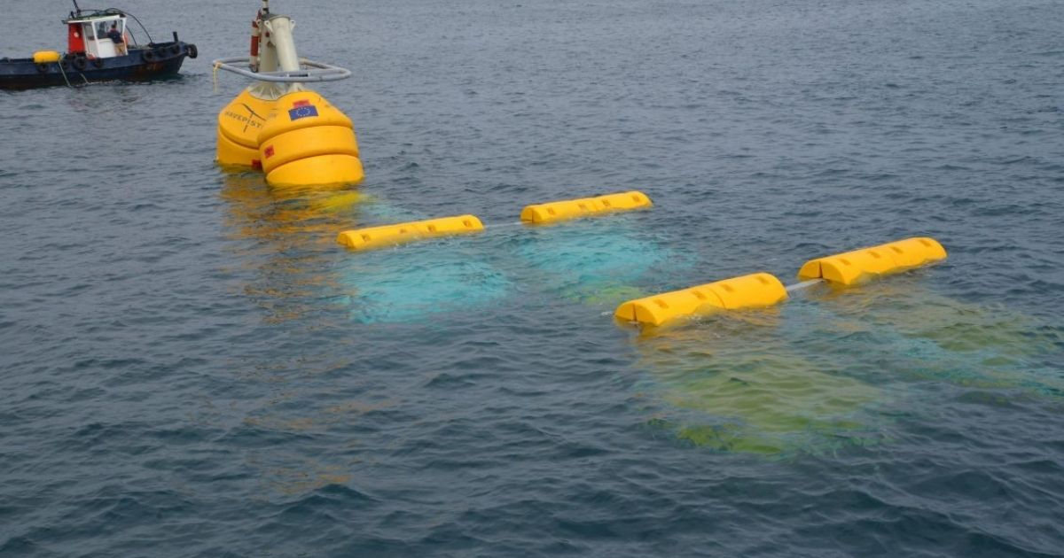 Wavepiston Installs  Wave Energy Converter at PLOCAN's Test Site