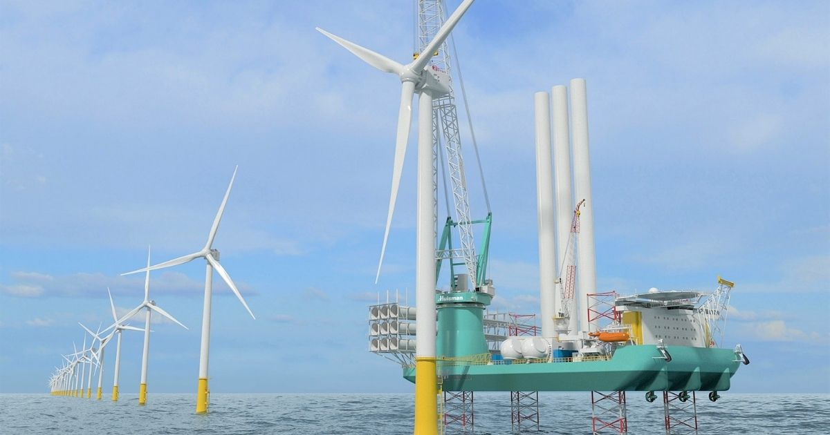 Kongsberg Maritime Integrated Solution for Wind Turbine Installation Units