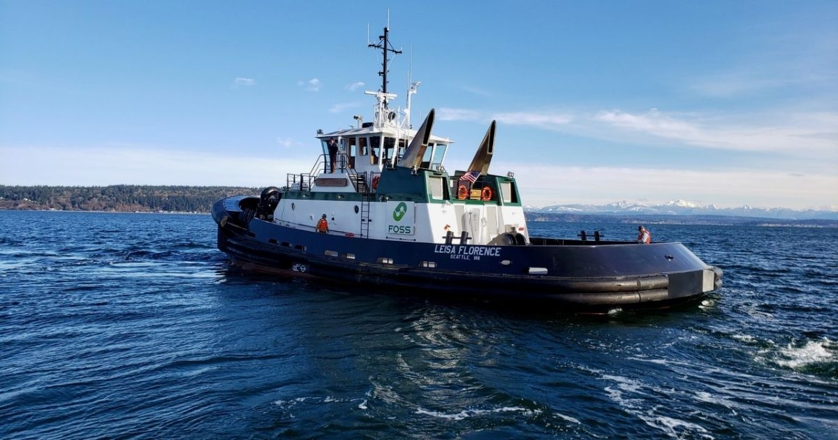 Foss Maritime 's First Commercially Funded, Autonomous Harbor Tug